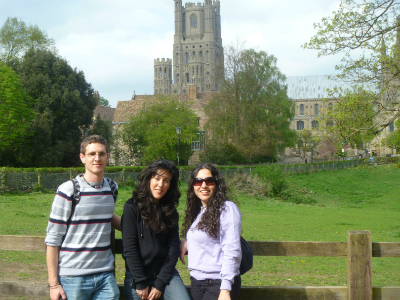 Students visit Ely